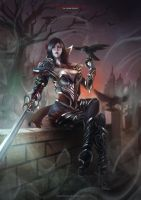 Nightraven Fiora by MonoriRogue