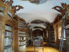 Antique Library 2 by LadyScale