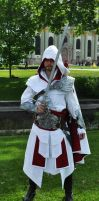 AC Brotherhood- Ezio Cosplay 3 by LadyBad