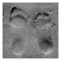 Lovers footprints by laurentroy