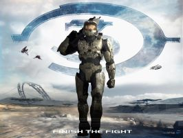 Halo 3 Wallpaper 4 by igotgame1075