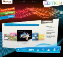 rainbow webdesign by PHOENIXdsgn