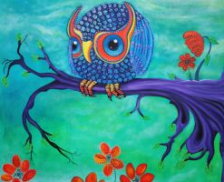 Enchanted Owl by barbosaart