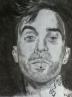 Travis Barker Drawing by MarcusHECANDRAWBoggs