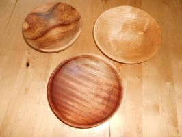 woodcraft bowls by MonsterWhacker