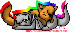 Max and Nyra by Foxxyheartz