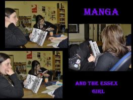 Manga and the essex girl by ravenmocara