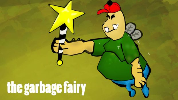 the garbage fairy for the win by digitalfruitco