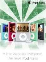 Advertising new iPod Nano by Marian68