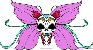 fairy skull by obscura-saphire