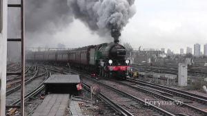 LNER 61306 'Mayflower' at Clapham Junction by The-Transport-Guild