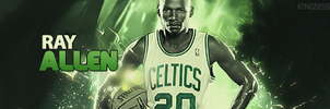Ray Allen Signature by kingsess