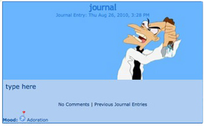 doof journal skin by DaddyDJ93