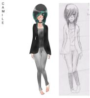 This is my OC Camille (Cami) by LadyDeathCandy