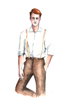 Man with Red Hair by disco-mouse