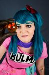 Bulma Teen Cosplay Dragonball by Kuchendiebin