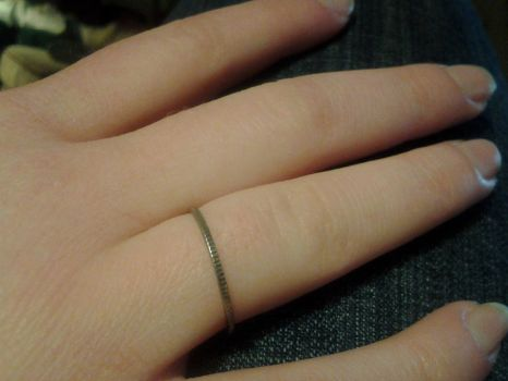 Dime Ring by Areka-Johnson