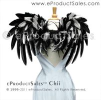 BLANC ET NOIR Feather Wings by eProductSales