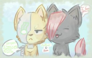 Bloodpaw and Code by Apprentice-Bloodpaw