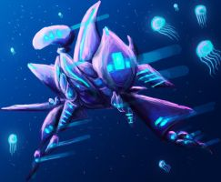 Alchemy - Underwater Sentry by Living-with-aliens