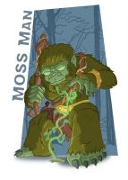 Meejitz - Moss Man by happymonkeyshoes