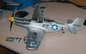1 24 P-51D Mustang Trumpeter by SindreAHN