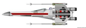 X-wing Starfighter by bstocks