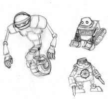 Small Robots- Redo by air-bourne