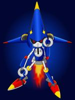 Rocket Metal Sonic by Cacti