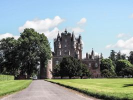 Glamis Castle. Scotland by jennystokes