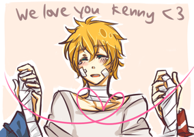 SP - We love you Kenny by suga-ovadose