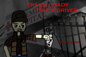 TRAVIS GRADY YEAH by JesterOfToast