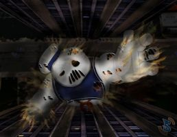 It's The Stay Puft Marshmallow Man..... by SeanBeyer516