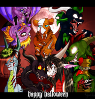Happy Halloween 2013 by Yorialu