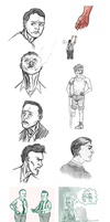 Bioshock Sketch Dump 3 by coffeemugtime