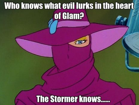 My first Jem Meme featuring Stormer by Highwayhoss