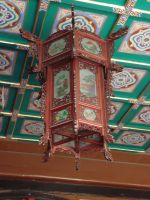 ms100-oriental red lamp by mystify-stock