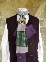 Steampunk jabot PCN1-2 by JanuaryGuest