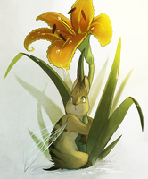 Don't get Wet Little Bee by Katmomma