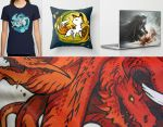 society6 stuff by sandara