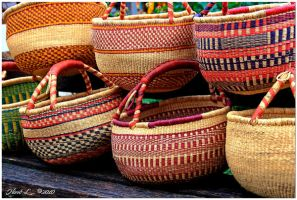 African Shopping Baskets 2 by DeviantDrax