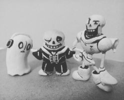 Undertale Characters Modelling by Sketchkingdom