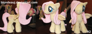 #2 FlutterShy plushie by BlondeauJ