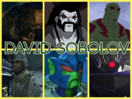 David Sobolov Characters by PhantomEvil