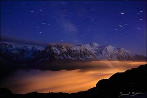 Mont Blanc by samuelbitton