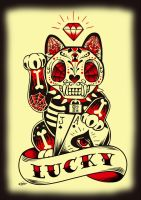 Lucky Cat by ElPino0921