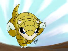 Sandshrew collab by stuhp