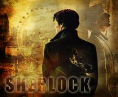 Shadow of Sherlock by gogo888