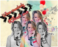\\Bridgit Mendler\\ When Somebody Loved Me by Masquerade111