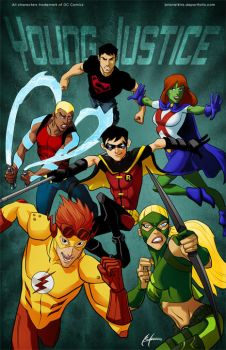 Young Justice Poster by BrianAtkins